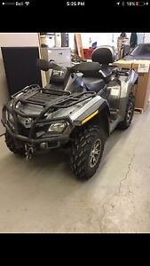 2009 Can Am 4x4 quad- limited edition