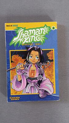 Hiroyuki Takei - SHAMAN KING 6 - Carlsen Comic - Zustand: SEHR GUT