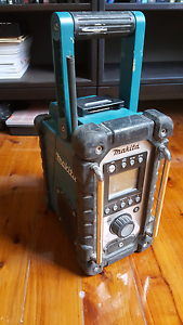 Makita job site radio Redfern Inner Sydney Preview