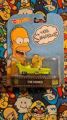 Hot Wheels The Homer The Simpsons Retro Entertainment