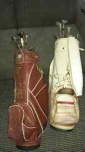 Golf clubs and bags. Sylvania Sutherland Area Preview