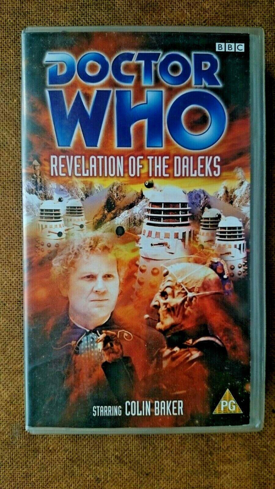Doctor Who - Revelation Of The Daleks (VHS)