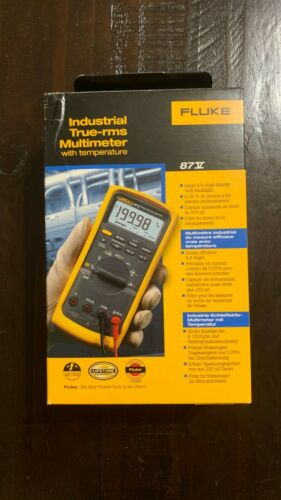 Fluke 87V Industrial True-rms Multimeter - New in Box