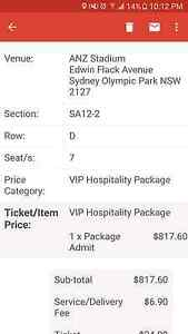 Adele sydney 2017 private suit VIP ticket Jamisontown Penrith Area Preview