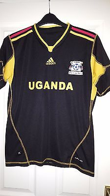 Mens Football Shirt - Uganda - Goal Keeper 2012-2013 - Adidas - Black (Africa) image