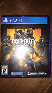 (KANATA-south) PS4 BLACK OPS 4 in new condition
