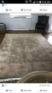 Beautiful 8x10ft short woven area rug