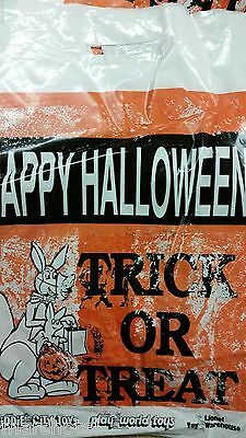 LIONEL KIDDIE CITY PHILADELPHIA TOY STORE HALLOWEEN PLASTIC  TRICK TREAT BAG