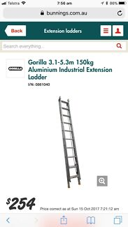 Extension Ladder 3.1m - 5.4m