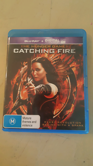 Hunger Games, catching fire Blu-ray