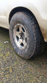 4x4 tyres 31x10.5 Angle Vale Playford Area Preview