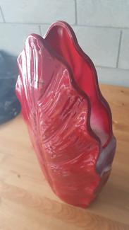 Red Vase - Large