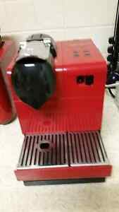 Near New Red Lattissima Plus Coffee Machine By Delonghi Brentwood Melville Area Preview