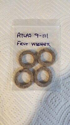 Atlas 10 Metal Lathe Or 7 Shaper Countershaft Felt Washers Part 9-111 New