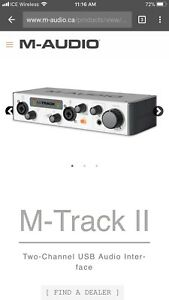 M-Audio M-Track MKii Two-Channel USB Audio Interface