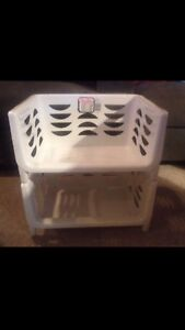 2 Large & 3 Small Stackable Bins