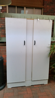 FREE grey cupboard wardrobe (contents not included) Lilydale