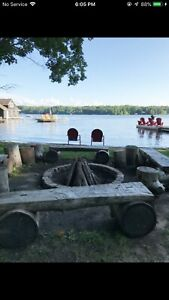 Muskoka cottage on the lakefront! 4/5 star vacation getaway