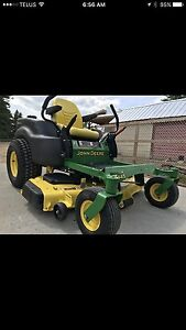 W Reduced : John Deere Z445 zero turn 25 horse