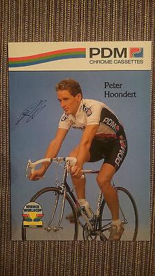 AK m.Druck.AG Peter Hoondert Team PDM 1990 Rarität