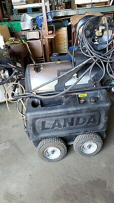 Used Landa Hot Water Pressure Washer