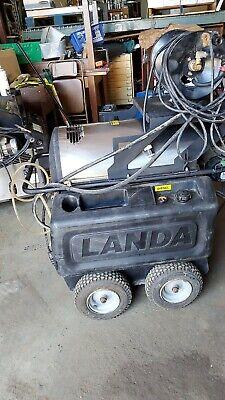 Used Landa Hot Water Pressure Washer