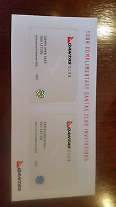 QANTAS CLUB LOUNGE PASS X 2 BUSINESS FREE POSTAGE Mortdale Hurstville Area Preview