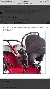 Baby Jogger Universal Double Stroller Adaptor