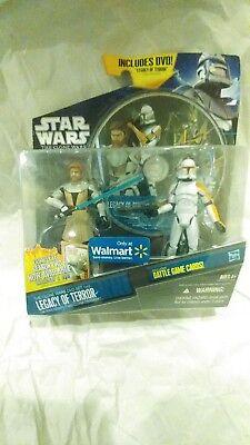 Obi-Wan & Clone Trooper STAR WARS The Clone Wars TCW Legacy of Terror DVD