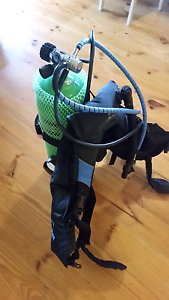 Scuba set complete with tank Healesville Yarra Ranges Preview