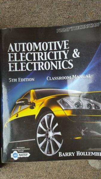 automotive electricity and electronics 5th edition