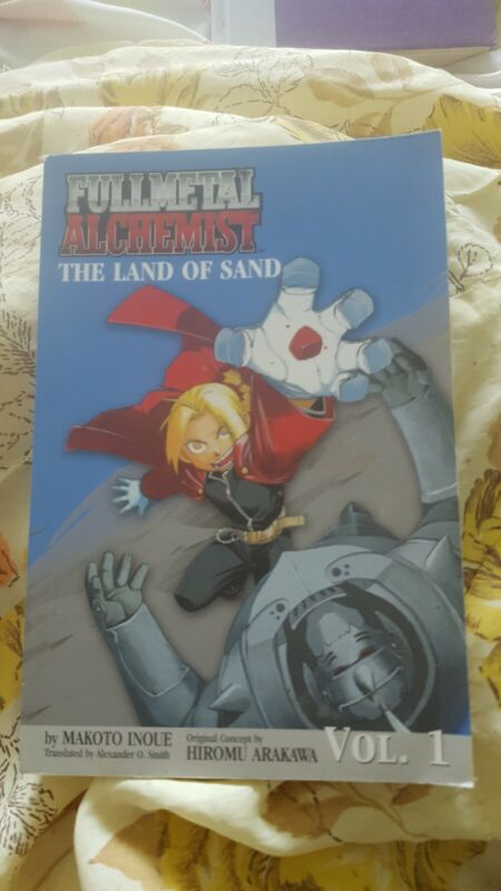 Fullmetal Alchemist The Land of Sand Paperback