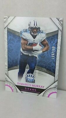 2016 Crown Royale Pink #46 DeMARCO MURRAY /199 ! (Titans)