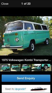 Spraypainter to paint a 1973 VW Kombi Keilor East Moonee Valley Preview