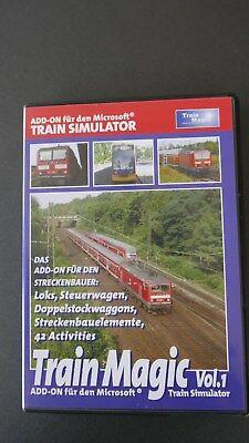Gebraucht, Train Simulator - Train Magic Vol. 1 (PC) Add on  gebraucht kaufen  Bembermühle