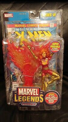Marvel Legends: PHOENIX RED Variant - Series VI Rare ToyBiz 2004 Action figure