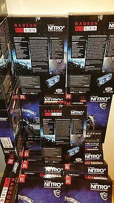 Total 6X Sapphire Radeon NITRO+ RX 580 8GB GDDR5 SPECIAL EDITION 100411NT+8GSEL