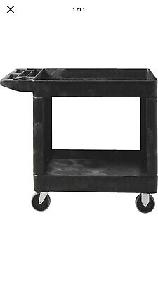 Rubbermaid Commercial Heavy-duty Utility Cart - Medium Fg452088 Black