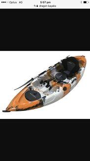 Dragon pro fishing kayak