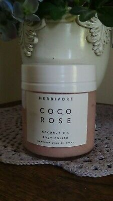 Herbivore Botanicals - All Natural Coco Rose Body Polish / Sugar Scrub