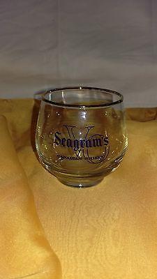 Seagram VO Canadian Whiskey Tumbler Glas