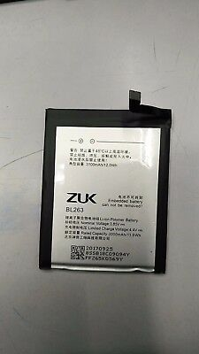 1 x new Battery For Lenovo ZUK Z2pro Z2121 BL263 3100mAh