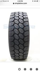 425/65r22.5 Bridgestone tires