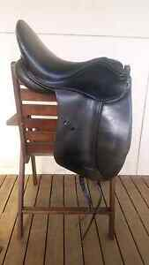 16.5 black Riviera Savona dressage saddle Must go asap! Albany Albany Area Preview