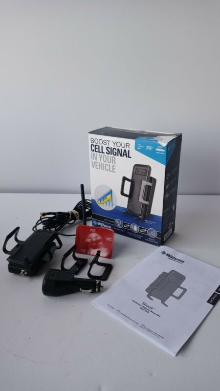 Wilson Sleek Cellular 3G Signal Booster 460106 with antenna For car auto