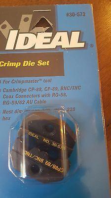 Ideal Crimp Die Set 30-573 For Crimpmaster Tool