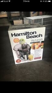 Hamilton Beach big mouse Juicer