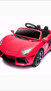 Lamborghini aventador kids ride on car RED WHITE  hydraulics Werribee Wyndham Area Preview