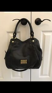 Marc By Marc Jacobs Classic Q Fran Satchel Bag Black