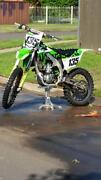 Kx450f 2015 model great bike with blinged up parts Mount Druitt Blacktown Area Preview